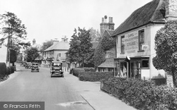 Capel, Post Office And Village 1928