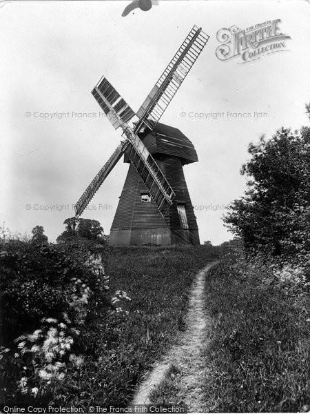 Photo of Capel, Shiremark Windmill 1928