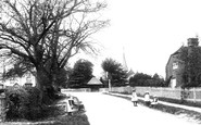 Photo of Vicarage Lane 1906, Capel