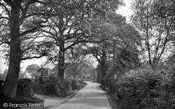 Capel, Vicarage Lane 1928