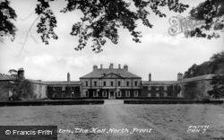 The Hall, North Front c.1960, Capheaton