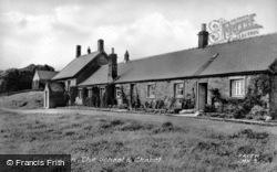 The School And Chapel c.1960, Capheaton