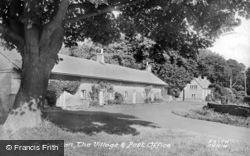 The Village And Post Office c.1960, Capheaton
