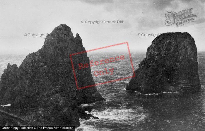 Photo of Capri, Faraglioni c.1930