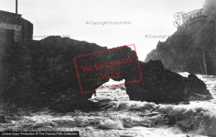 Photo of Capri, Rock Of Sirens c.1930