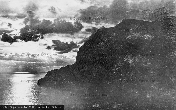 Photo of Capri, Sunset At Marina Piccola c.1930