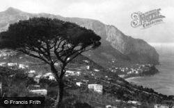 View From Monte Tibeiro c.1930, Capri