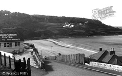 The Sands And Headland c.1955, Carbis Bay