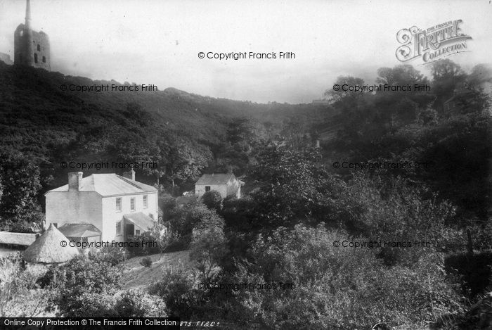 Photo of Carbis Bay, The Valley 1892
