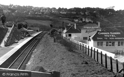 View From The Railway Bridge c.1955, Carbis Bay
