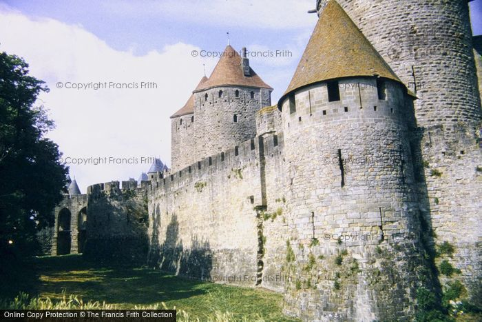 Photo of Carcassonne, Turrets And Main Entrance 1994