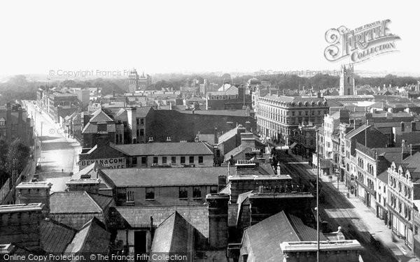 Photo of Cardiff, 1893