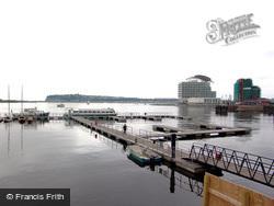 Cardiff, Bute Docks, Now The Marina 2004