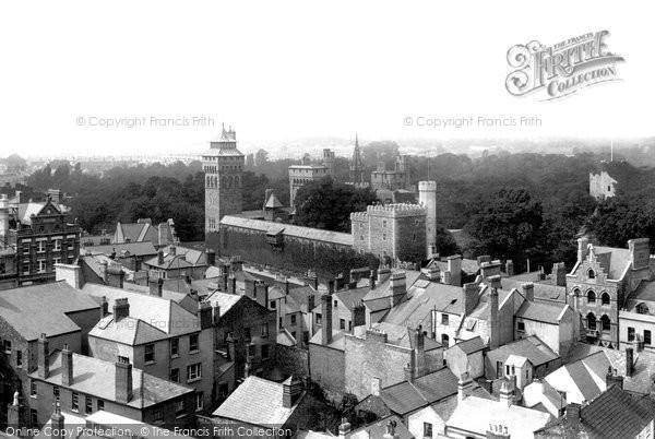 Photo of Cardiff, Castle 1893