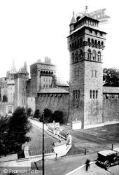 Cardiff, Castle 1925