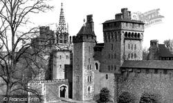 Cardiff, Castle c.1955