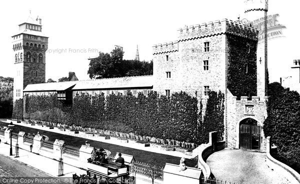 Photo of Cardiff, Castle South Side 1893