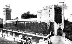 Cardiff, Castle South Side 1893
