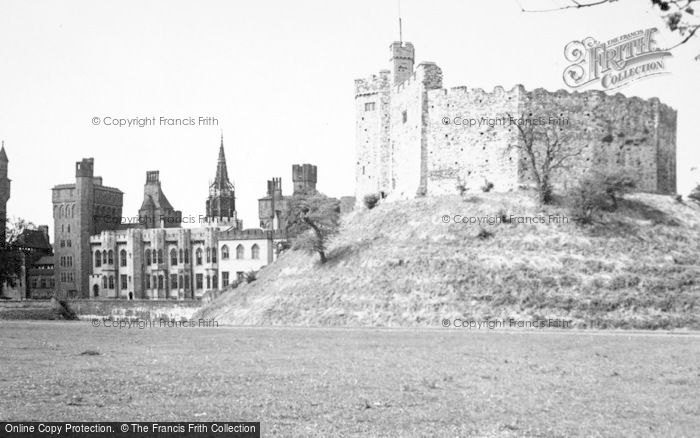 Photo of Cardiff, Castle, The Great Keep 1949
