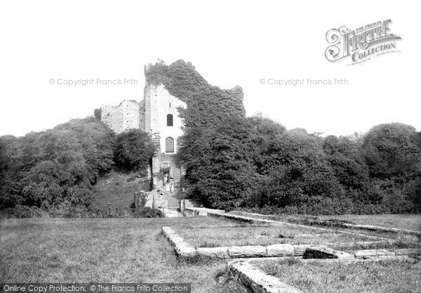 Photo of Cardiff, Castle, The Old Keep 1893