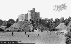 Cardiff, Castle, The Old Keep c.1960