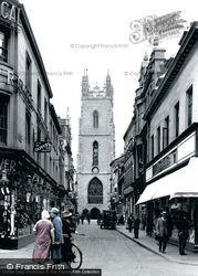 Cardiff, Church Street 1925