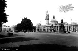 Cardiff, City Hall 1925