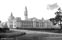 Cardiff, City Hall And Law Courts 1906