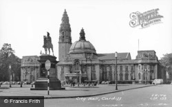 City Hall c.1960, Cardiff