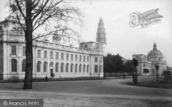 Cardiff, City Hall, Law Courts 1906