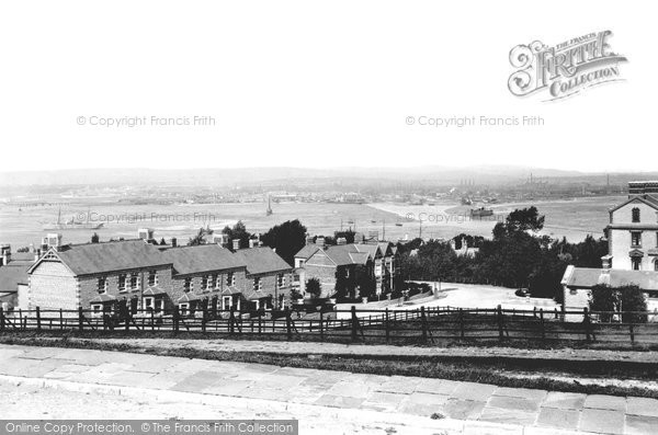 Photo of Cardiff, From Penarth 1893