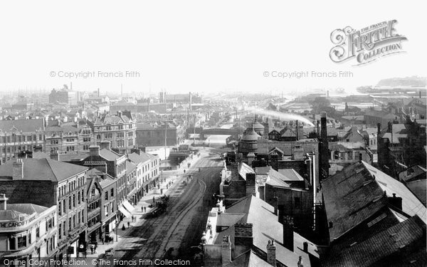 Photo of Cardiff, General View 1893