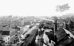 Cardiff, General View 1893
