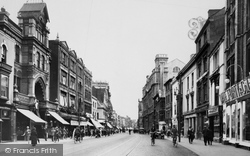 Cardiff, High Street 1925