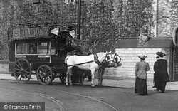 Cardiff, Horsedrawn Bus c.1903