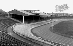 Cardiff, Maindy Stadium c.1960