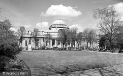 Cardiff, National Museum Of Wales c.1950