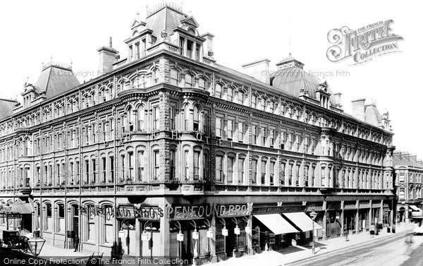 Cardiff, Park Hotel 1893