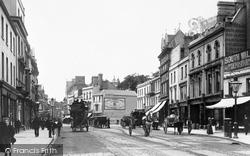 Cardiff, Queen Street 1893
