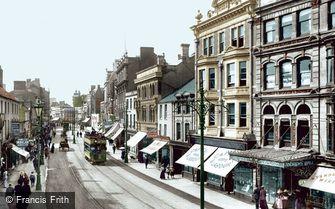 Cardiff, Queen Street 1902