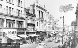 Queen Street c.1955, Cardiff