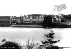Cardiff, Roath Park Lake 1902