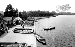 Roath Park Lake 1925, Cardiff