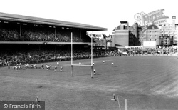 Cardiff, Rugby At Cardiff Arms Park c.1960