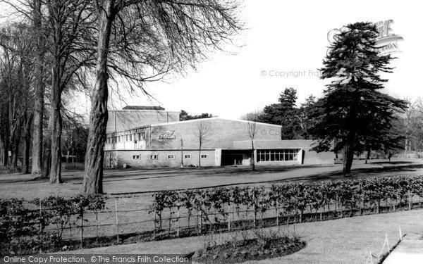 Photo of Cardiff, Sophia Gardens Pavilion c.1960