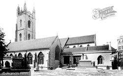 Cardiff, St John's Church 1893