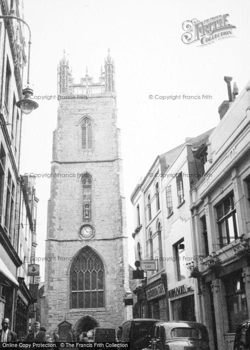Photo of Cardiff, St John's Church 1949