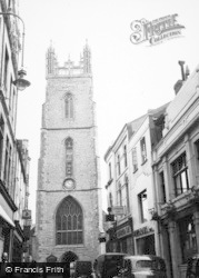 Cardiff, St John's Church 1949