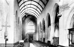 Cardiff, St John's Church Interior 1893