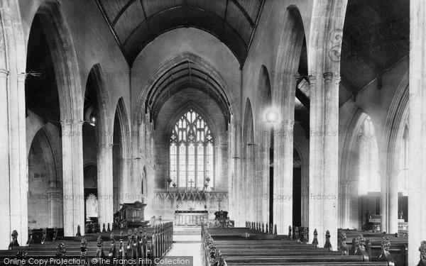 Photo of Cardiff, St John's Church, Nave East 1893